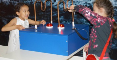 Перед началом учебного года дети из омского Каритас побывали в «Лаборатории Эйнштейна»