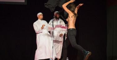 Активистки Femen пытались сорвать мусульманский форум в Париже