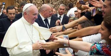 Папа Франциск: будьте готовы пойти по неизведанным тропам евангелизации