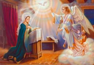 Благовещение Святого Архангела Гавриила