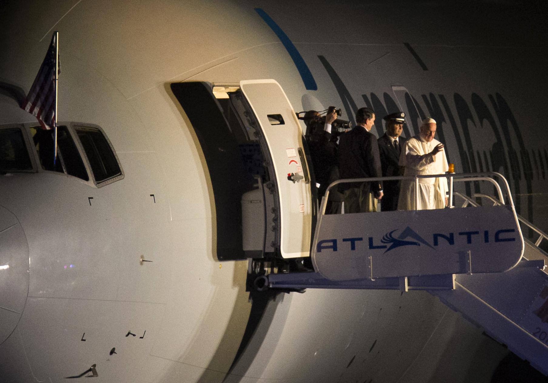 Завершилось 10-е Апостольское путешествие Папы Франциска