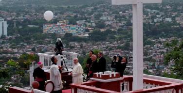 Папа благословил город Ольгин (+ ФОТО)