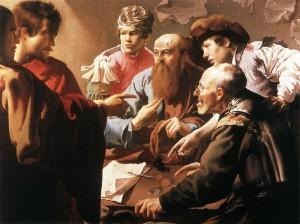 Призвание апостола Левия Матфея