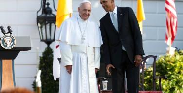 Папа Франциск в Белом доме: «Религиозная свобода — величайшее сокровище Америки»