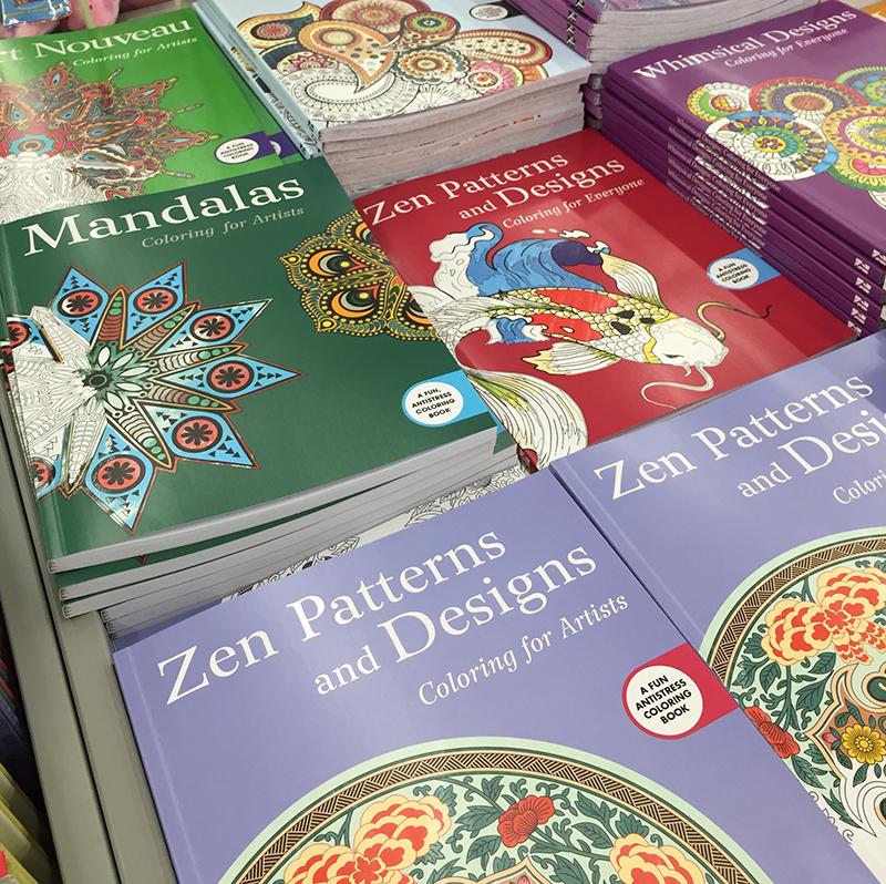 книжки раскраски для взрослых не только успокаивающее но и