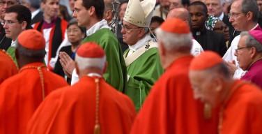 Слово Папы Франциска на закрытие посвященного семье Синода епископов