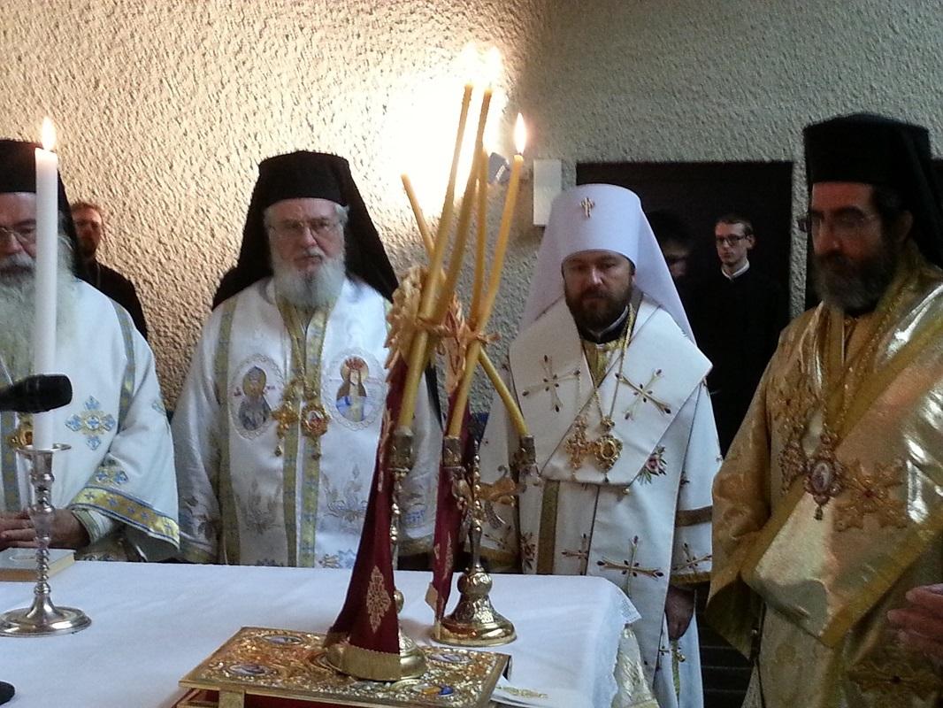 Делегация РПЦ прибыла на Всеправославное предсоборное совещание