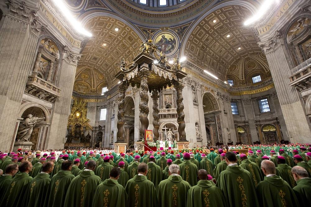 Открытие Синода Епископов