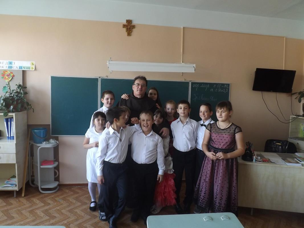 Францисканский привет из холодной Сибири