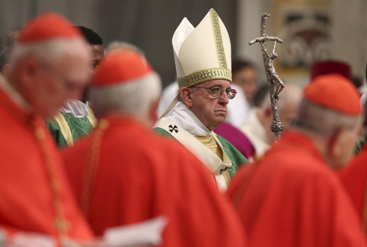 Вступительное слово Папы Франциска на утреннем заседании 5 октября: «Синод – это не парламент, а пространство Святого Духа»