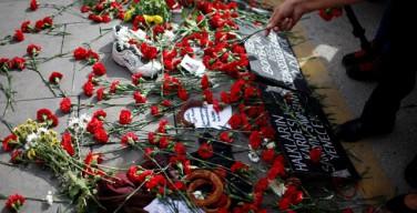 Турецкие католики молятся о жертвах теракта
