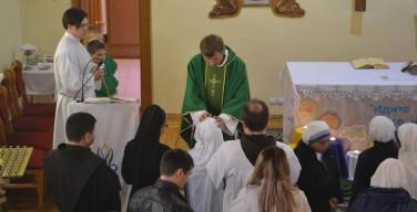 Примиция священника-францисканца в Новосибирске
