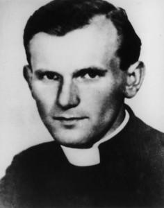 Молодой священник Кароль Войтыла. 1948 г.