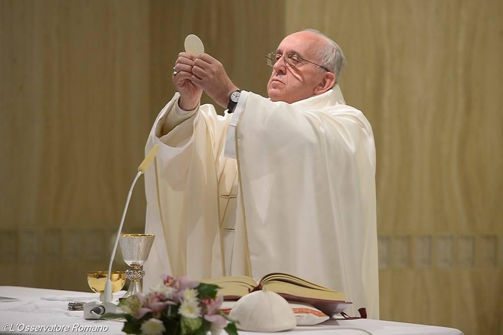 Пусть не угасает в нашем сердце ностальгия по Богу. Месса Папы Франциска 1 октября