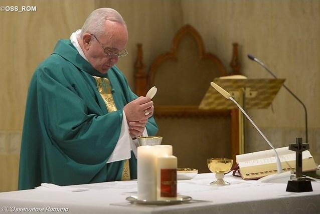 Папа: Бог хочет, чтобы его служители были милосердными