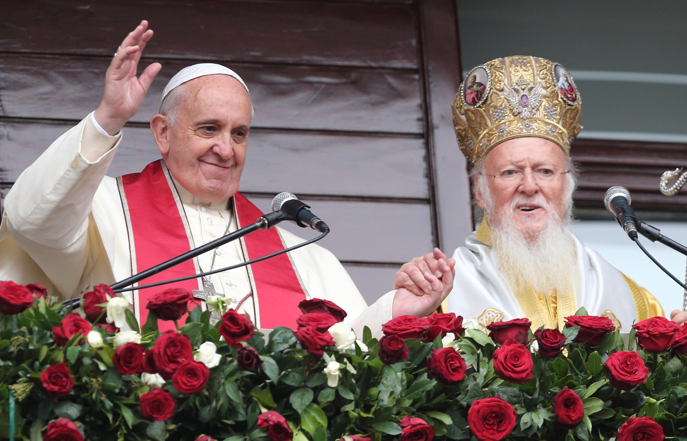 Папа Франциск — Патриарху Варфоломею: «Нет больше препятствий к евхаристическому общению»
