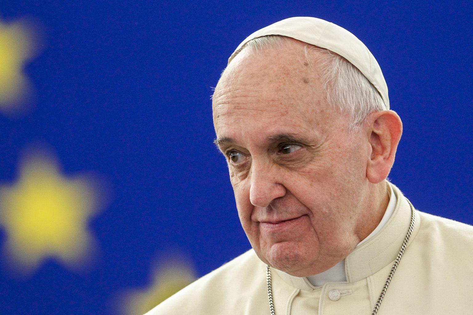 Святой Отец — четвертый в рейтинге «Forbes»