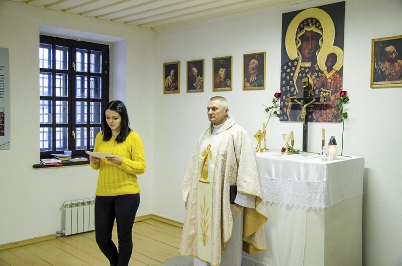 В Тюремном замке Тобольска впервые за сто лет отслужили св. Мессу