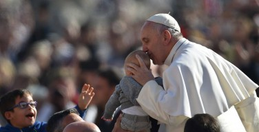 Папа. Площадь Святого Петра 4 ноября 2015 (фото)