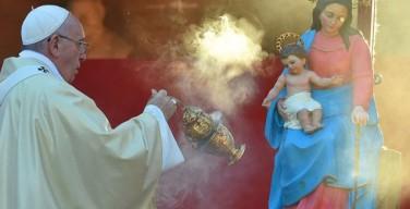 Папа: святость идёт против течения, но она — путь к счастью