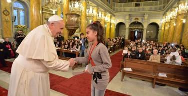 Папа Франциск напомнил о Дне солидарности с преследуемой Церковью