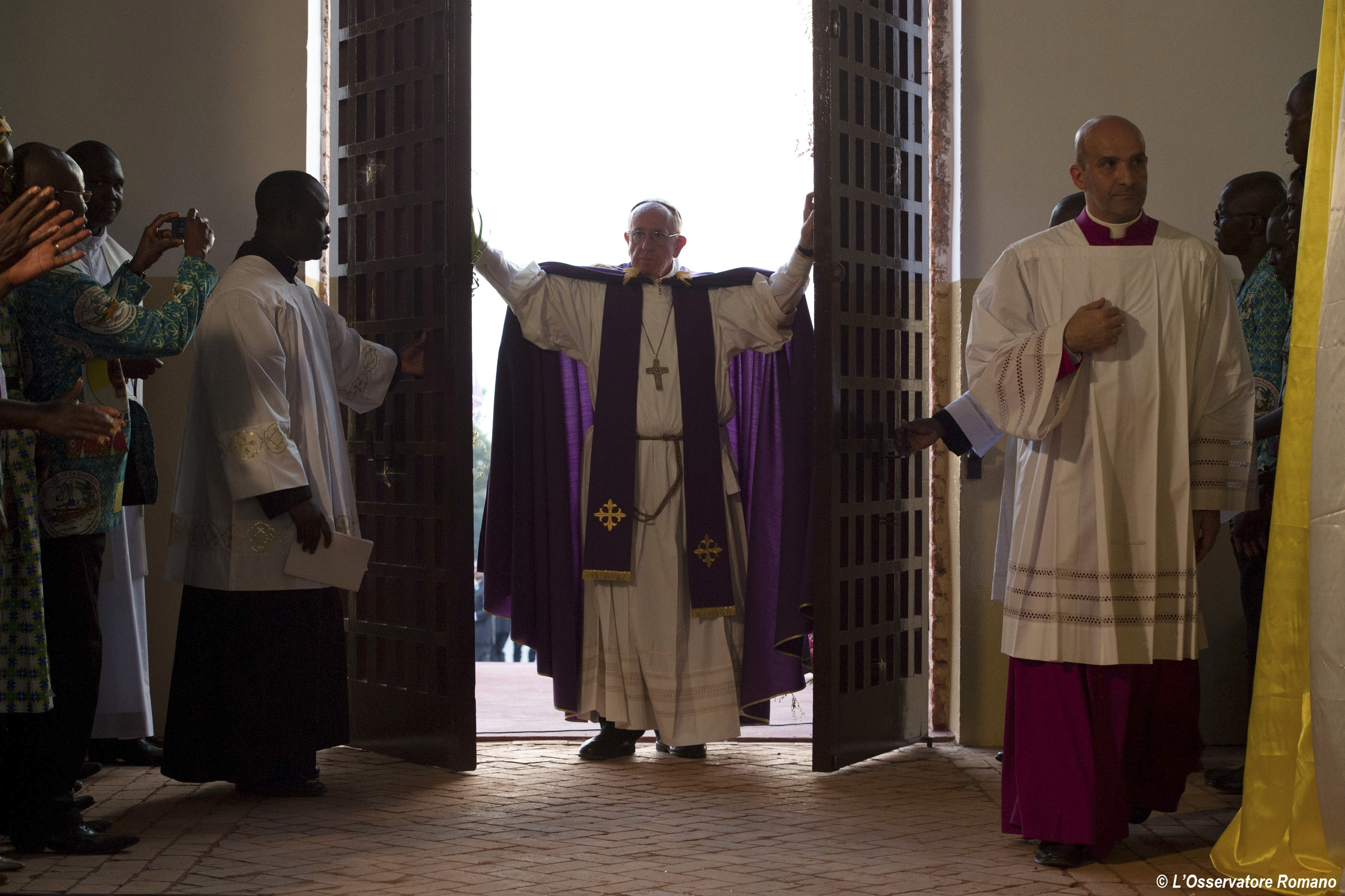 Папа Франциск в Центральноафриканской республике: призыв к прощению и примирению