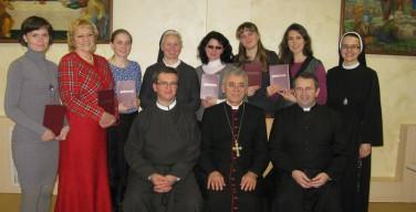 Третий выпуск Епархиальной Школы Катехизации: Владыка Иосиф Верт вручил дипломы