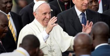Папа Римский Франциск прибыл в Кению