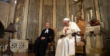Подробнее о встрече Папы Франциска с лютеранами