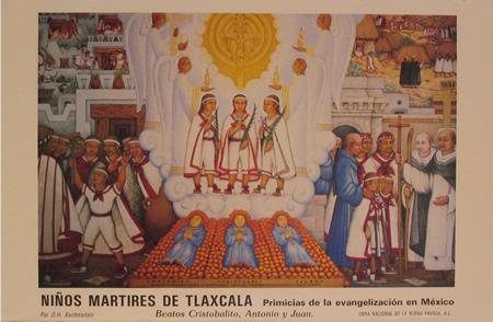 В Мексике завершилось празднование юбилея в честь детей-мучеников