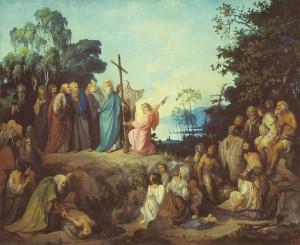 Проповедь апостола Андрея на Киевских горах