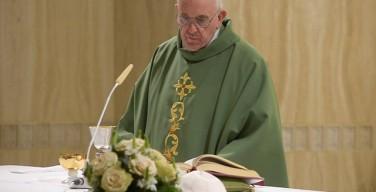 Папа Франциск о современных формах идолопоклонства и красоте Божьей