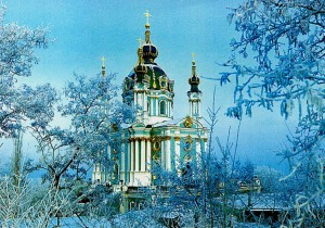 Андреевская церковь в Киеве (XVIII век)