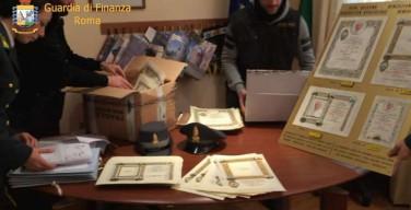 В Риме конфисковали «Папские благословения» на 70 тысяч евро