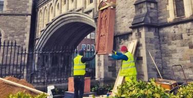 У англиканского собора в Дублине возведен мемориал жертвам геноцида армян