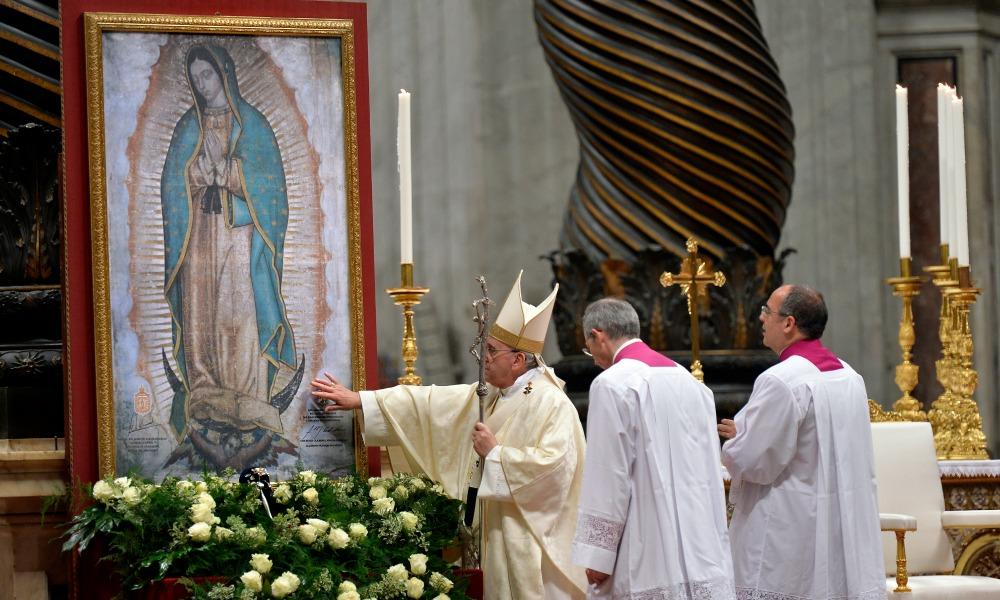 Папа: пусть Дева Мария Гваделупская поможет нам постичь глубину Божьего милосердия