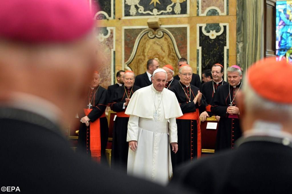 Папа — о «каталоге добродетелей» для Римской Курии