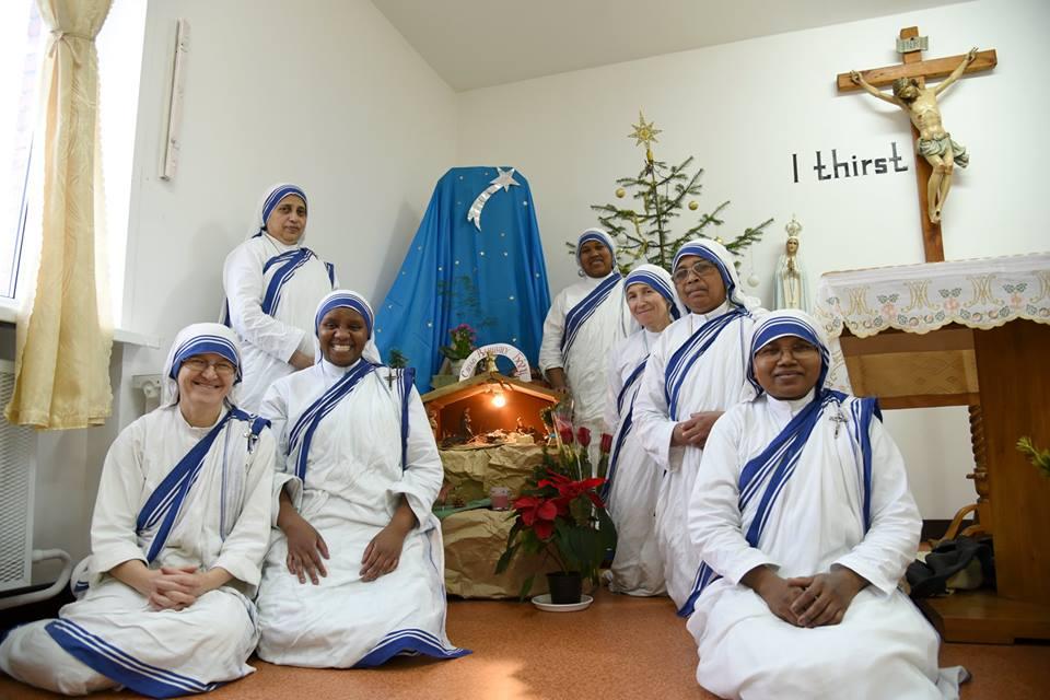 Рождество в Приюте Сестер Матери Терезы