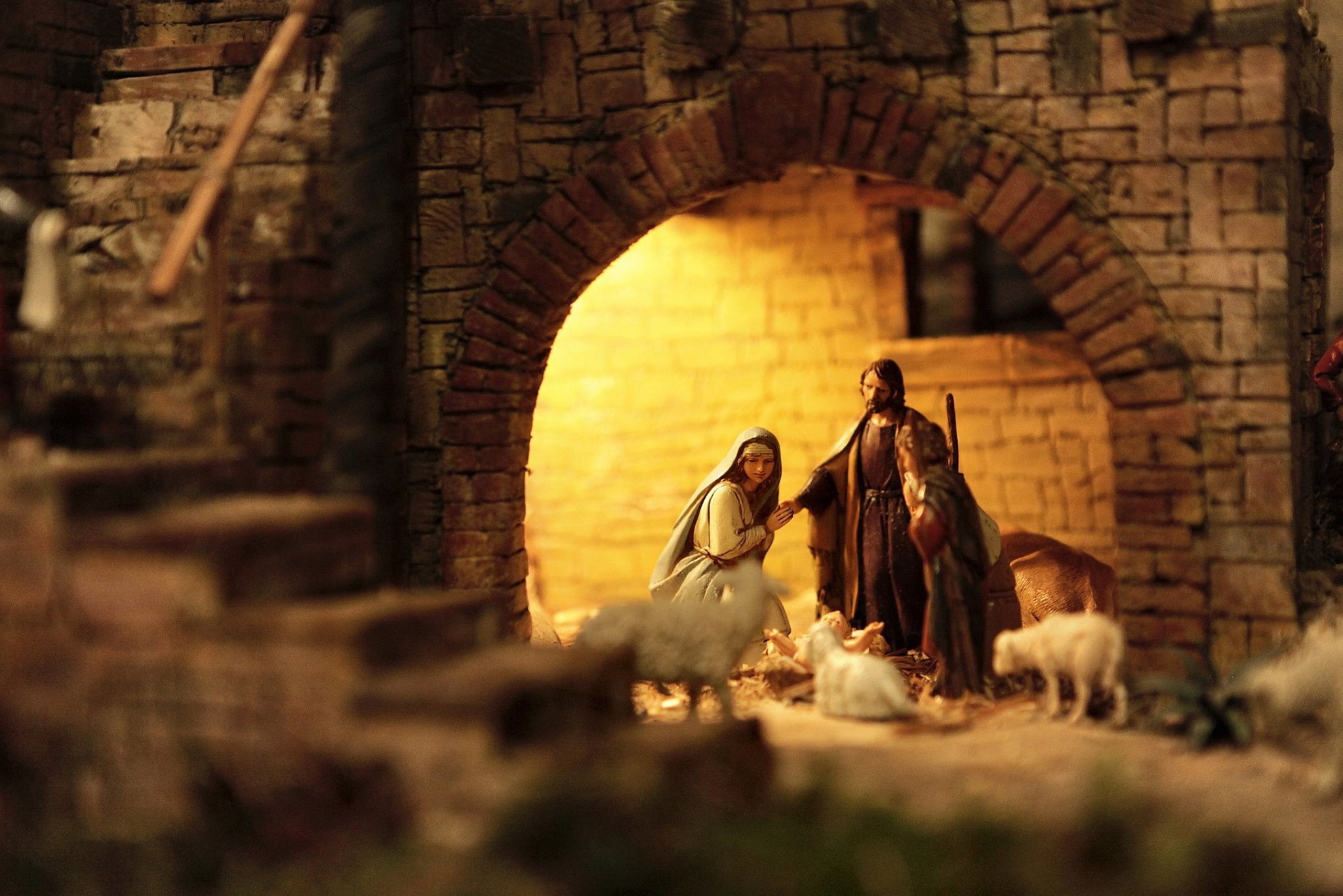 Рождественские ясли — между искусством и верой (ФОТО)