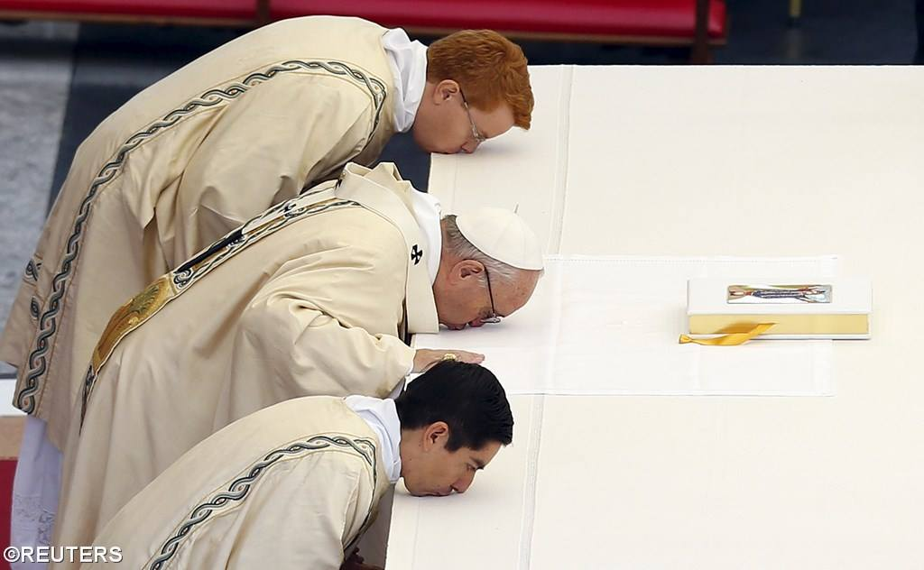 Месса открытия Юбилейного Года на площади Святого Петра (ФОТО)