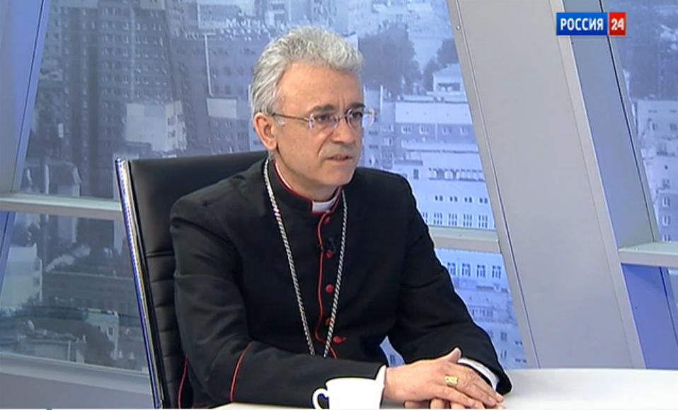 Интервью епископа Иосифа Верта на канале «РОССИЯ 24» (полная версия)
