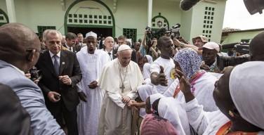 Встреча Папы Франциск с мусульманами ЦАР: скажем вместе «нет» ненависти, мести и насилию