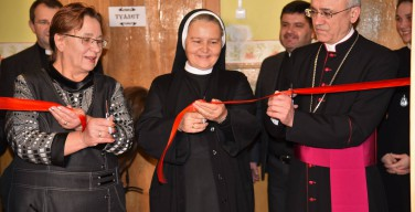 Открытие «Благотворительной столовой Святого Николая»
