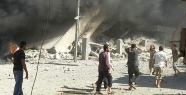 Взрывы прогремели в христианском городе Телль-Тамер на севере Сирии, есть жертвы