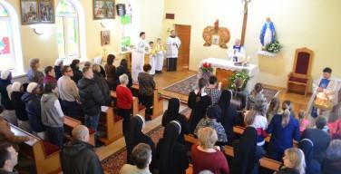 Престольный праздник храма Непорочного Зачатия Пресвятой Девы Марии в Новосибирске
