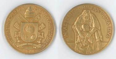 Появилась памятная медаль на Юбилей Милосердия