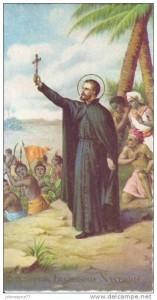 Св. Франциск Ксаверий на миссии