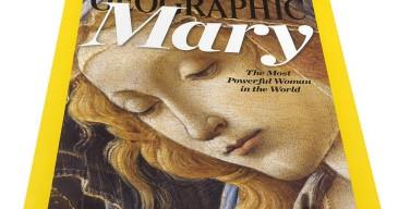 На обложку декабрьского выпуска National Geographic поместили изображение Девы Марии