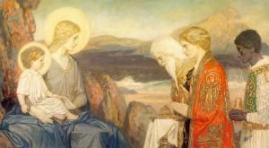 Поклонение волхвов