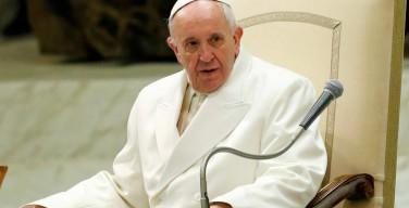 Папа Франциск удостоен премии Карла Великого за свою приверженность миру